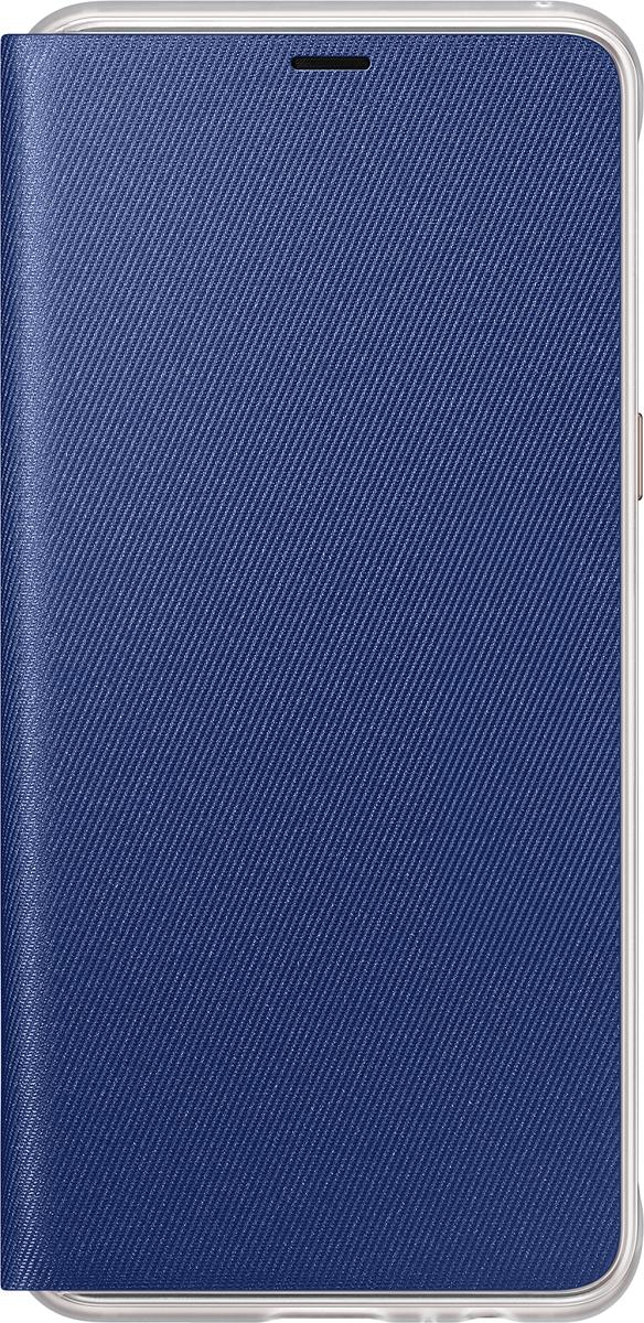 Samsung Neon Flip Cover чехол для Galaxy A8, BlueEF-FA530PLEGRUЧехол Neon Flip Cover создан для качественной защиты смартфона Samsung Galaxy A8 с учетом его особенностей. Он плотно прилегает к девайсу и защищает от пыли и царапин. Чехол выполнен из материалов высокого качества, приятен на ощупь, не увеличивает габаритов смартфона, подчеркивая его тонкую форму и современный стиль.