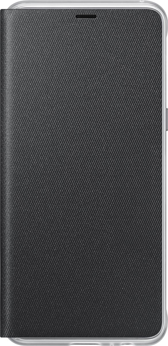 Samsung Neon Flip Cover чехол для Galaxy A8, BlackEF-FA530PBEGRUЧехол Neon Flip Cover создан для качественной защиты смартфона Samsung Galaxy A8+ с учетом его особенностей. Он плотно прилегает к девайсу и защищает от пыли и царапин. Чехол выполнен из материалов высокого качества, приятен на ощупь, не увеличивает габаритов смартфона, подчеркивая его тонкую форму и современный стиль.
