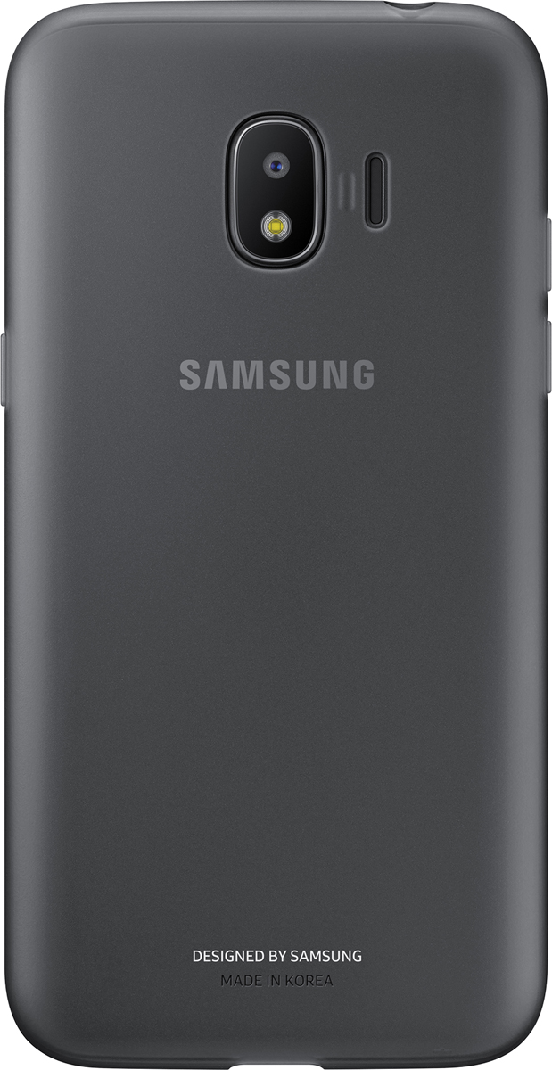 Samsung Jelly Cover чехол для Galaxy J2 (2018), BlackEF-AJ250TBEGRUЧехол-накладка Samsung Jelly Cover для Galaxy J2 (2018) обеспечивает надежную защиту корпуса смартфона от механических повреждений и надолго сохраняет его привлекательный внешний вид. Накладка выполнена из высококачественного материала, плотно прилегает и не скользит в руках. Чехол также обеспечивает свободный доступ ко всем разъемам и клавишам устройства.
