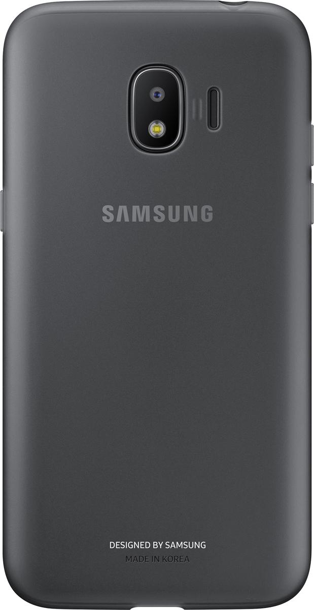 Samsung Jelly Cover чехол для Galaxy J2 (2018), Black аксессуар чехол накладка samsung galaxy j2 2018 jelly cover pink ef aj250tpegru