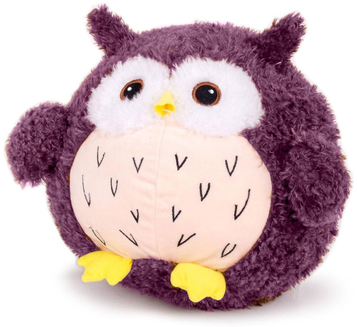 Gulliver Мягкая игрушка Сова Букля цвет фиолетовый 30 см gulliver gulliver мягкая игрушка собака пупс 29 см