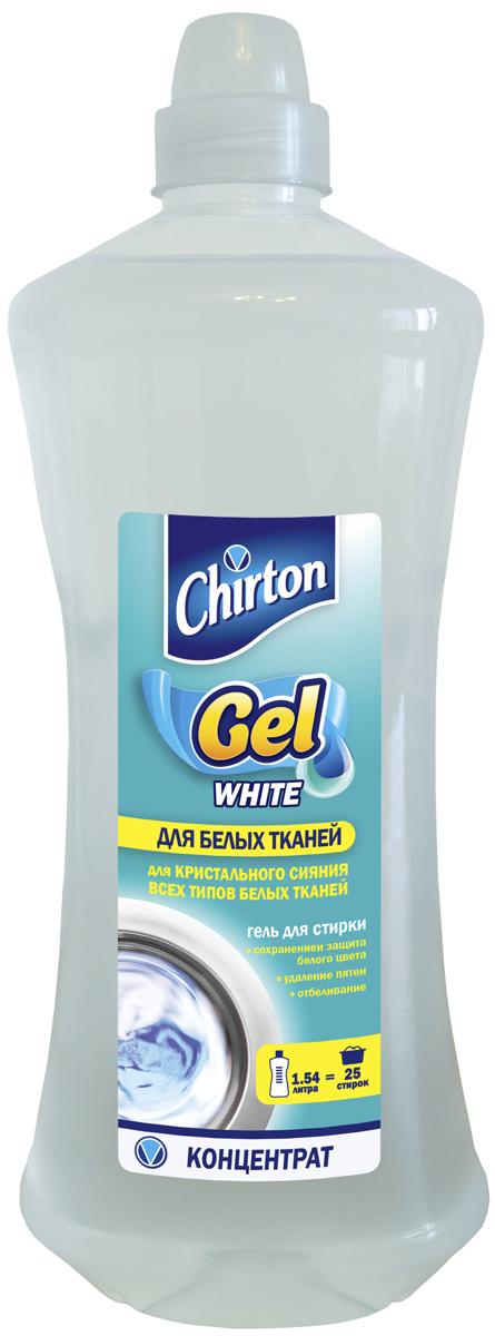 Гель для стирки Chirton, концентрированный, для белых тканей, 1,54 л303007Современная упаковка дой-пак делает гели удобными при покупке и надежными в хранении (нерассыпаются, не намокают). Легко и удобно дозируются, экономный расход. Отстирывают самые различные загрязнения. Бережно воздействуют на ткани. Хорошо растворяются в воде, легко выполаскиваются. Подходят для ручной и машинной стирки. Уважаемые клиенты!Обращаем ваше внимание на возможные изменения в дизайне упаковки. Качественные характеристики товараостаются неизменными. Поставка осуществляется в зависимости от наличия на складе.
