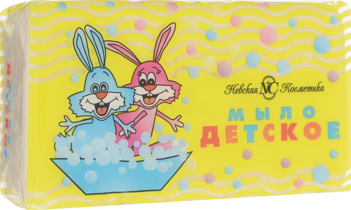 Невская косметика Мыло туалетное детское 140 г пена д ванн невская косметика с живицей 500мл