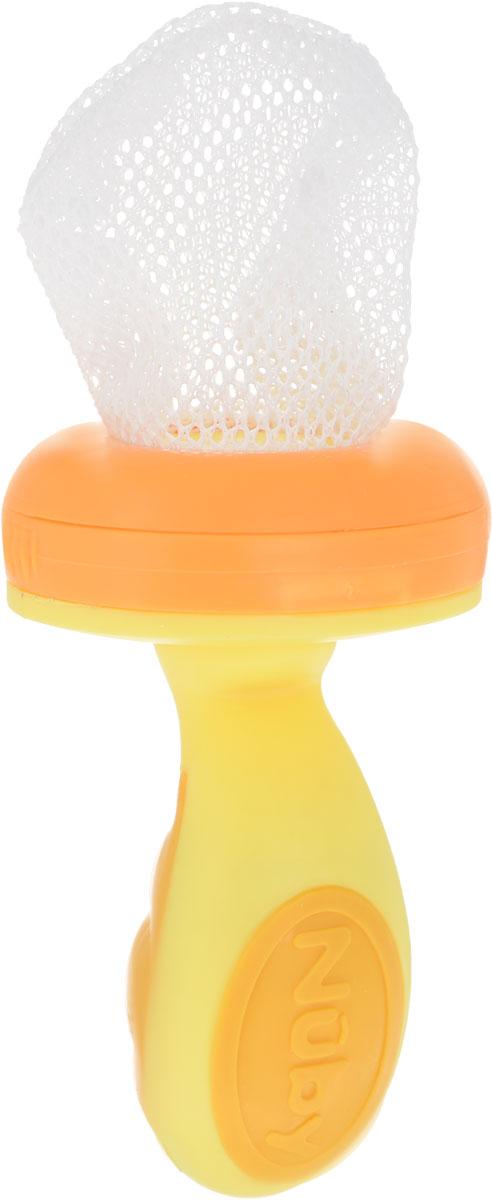 Ниблер Nuby, цвет: оранжевый, желтый nuby nuby набор ложек синие