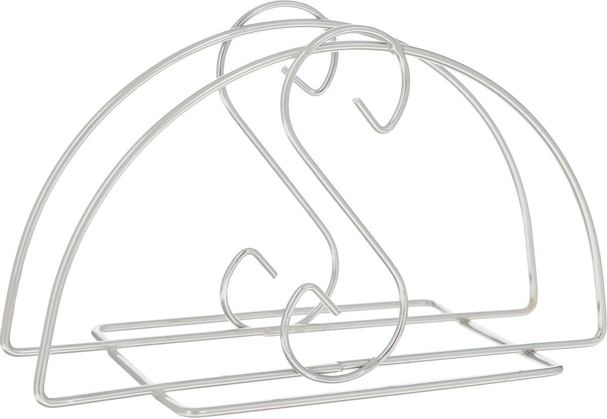Салфетница Доляна, 12,5 х 6 х 8 см405054Салфетница - это обязательный предмет сервировки, а подобранная со вкусом и изяществом - это еще и декоративный элемент, отвечающий за эстетическую наполненность каждой трапезы.Салфетница Доляна своим неприхотливым, но чарующим дизайном украсит любую кухню!