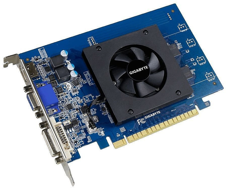 Gigabyte GeForce GT 710 1GB видеокарта (GV-N710D5-1GI)1000440724