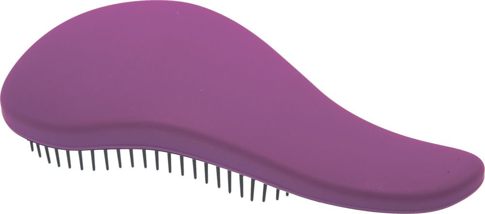 Dewal Beauty Щетка массажная, для легкого расчесывания волос, мини, цвет: фиолетовый, черныйDBT-06Щетка массажная мини Dewal Beauty DBT-06 – стильный вариант для качественной укладки. Известный бренд Dewal Beauty предлагает достойную массажную щетку, рассчитанную для легкого и тщательного расчесывания. Каждая прядь обязательно займет свое естественное положение, благодаря чему риск последующего спутывания волос полностью исключается. Массажная щетка отличается небольшим размером и легко поместиться даже в небольшой сумочке. Благодаря эргономичной ручке пользоваться данной расчёской легко и удобно, особенно это актуально для салонов и парикмахерских. Удобство расчесывания – это дополнительная забота о волосах, которые должны выглядеть безупречно. • Щётка легко и безболезненно расчесывают спутанные волосы, придавая им красивый и ухоженный вид; • Идеально подходят для любых типов волос разной длины; • Снимает чувство дискомфорта при расчесывании сухих или мокрых волос; • Незаменима для нанесения различных бальзамов и масок; • Яркий фиолетовый цвет с чёрной отделкой щетины; • Удобная мини-форма.