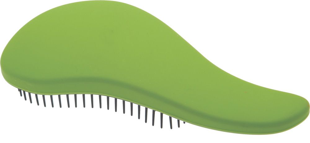 Dewal Beauty Щетка массажная, для легкого расчесывания волос, мини, цвет: зеленый, черныйDBT-07Щетка массажная мини Dewal Beauty DBT-07 – стильный вариант для качественной укладки. Известный бренд Dewal Beauty предлагает достойную массажную щетку, рассчитанную для легкого и тщательного расчесывания. Каждая прядь обязательно займет свое естественное положение, благодаря чему риск последующего спутывания волос полностью исключается. Массажная щетка отличается небольшим размером и легко поместиться даже в небольшой сумочке. Благодаря эргономичной ручке пользоваться данной расчёской легко и удобно, особенно это актуально для салонов и парикмахерских. Удобство расчесывания – это дополнительная забота о волосах, которые должны выглядеть безупречно. • Щётка легко и безболезненно расчесывают спутанные волосы, придавая им красивый и ухоженный вид; • Идеально подходят для любых типов волос разной длины; • Снимает чувство дискомфорта при расчесывании сухих или мокрых волос; • Незаменима для нанесения различных бальзамов и масок; • Яркий зелёный цвет с чёрной отделкой щетины; • Удобная мини-форма.
