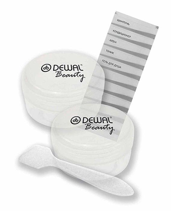 Dewal Beauty Дорожный набор баночек для путешествий, 3 предмета. DBTS2C набор dewal beauty косметических кистей маленький 6шт упак