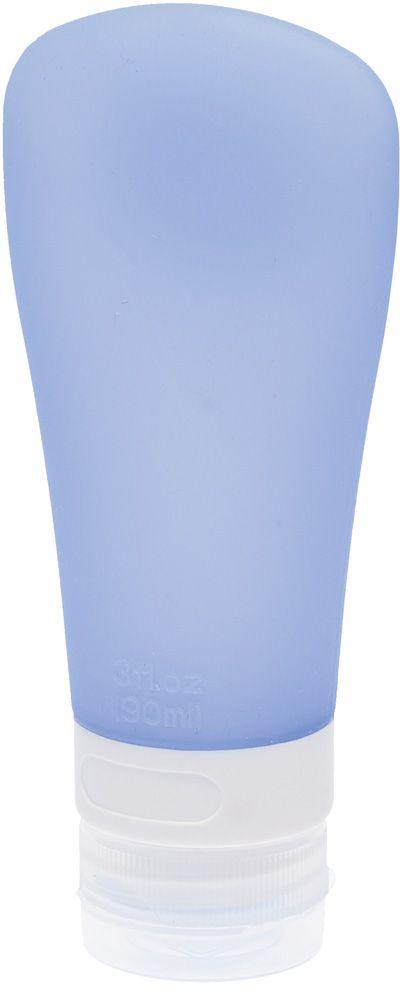 Dewal Beauty Дорожная баночка для путешествий, с присоской, цвет: голубой, 90 млDFZ-3Идеально подходит для деловых или личных поездок. Используйте её для вашего шампуня, лосьона, кондиционера, солнцезащитного крема. Надежная герметизация разработана так, что жидкости из баночки не будут вытекать. Мягкая форма позволяет легко выдавить содержимое до последней капли. Данная модель баночки снабжена специальной присоской, для того что бы Вы могли легко прикрепить баночку к плитке в ванной комнате.
