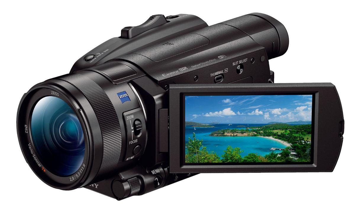 Sony FDR-AX700 цифровая видеокамера стоимость