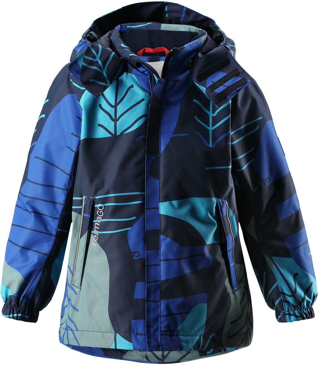 Куртка для мальчика Reima Reimatec Korte, цвет: синий. 521533R6982. Размер 152521533R6982Абсолютно водо- и ветронепроницаемая демисезонная куртка Reimatec. Все швы в ней запаяны, а сама она снабжена множеством практичных деталей, например, съемным капюшоном, который легко отстегивается, если за что-нибудь зацепится. Эластичные манжеты и регулируемый подол не пропускают ветер. Ну а карманы на молнии надежно сохранят ключи от дома и найденные на прогулке сокровища. В этой куртке даже дождь не помешает веселым играм на улице!