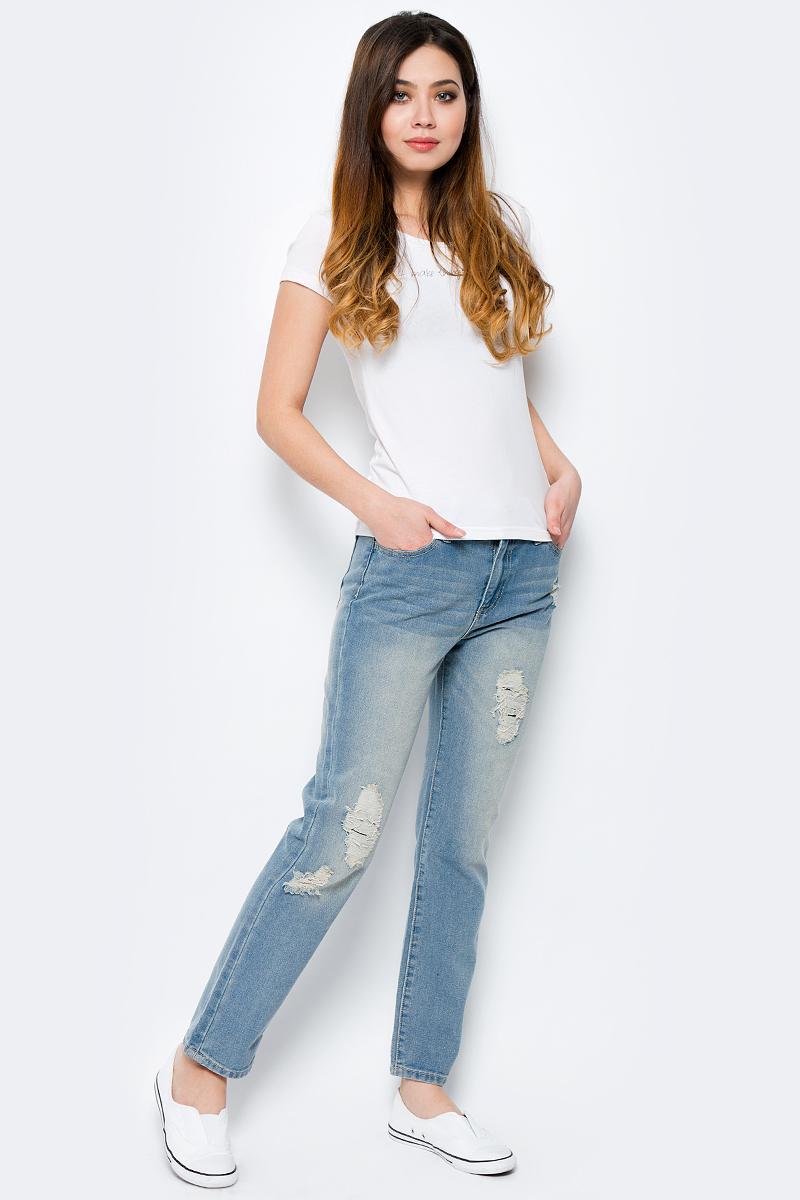 Джинсы женские Top Secret, цвет: синий. SSP2437NI. Размер 34 (42)SSP2437NIСтильные женские джинсы Top Secret - джинсы высочайшего качества на каждый день, которые прекрасно сидят. Модель изготовлена из высококачественного комбинированного материала. Эти модные и в тоже время комфортные джинсы послужат отличным дополнением к вашему гардеробу. В них вы всегда будете чувствовать себя уютно и комфортно.
