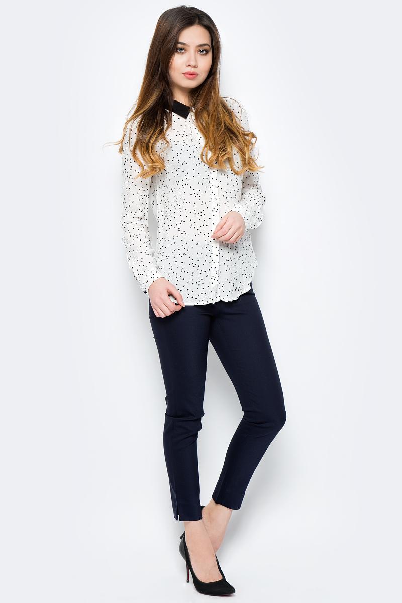 Блузка женская Sela, цвет: молочный. B-112/1325-8121. Размер 50 sela b 112 225 7244