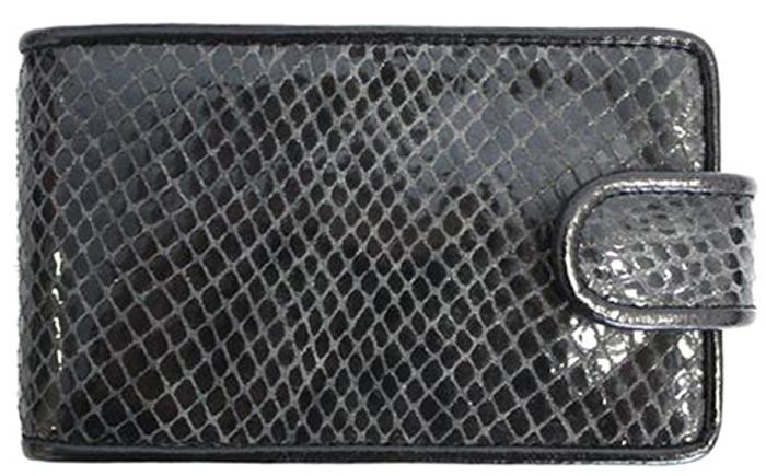 Визитница женская Alliance, цвет: серый, черный. 0-415