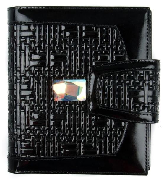Визитница женская Krystall, цвет: черный. 0-474(СВ) обложка для паспорта женская krystall цвет черный 0 509 св