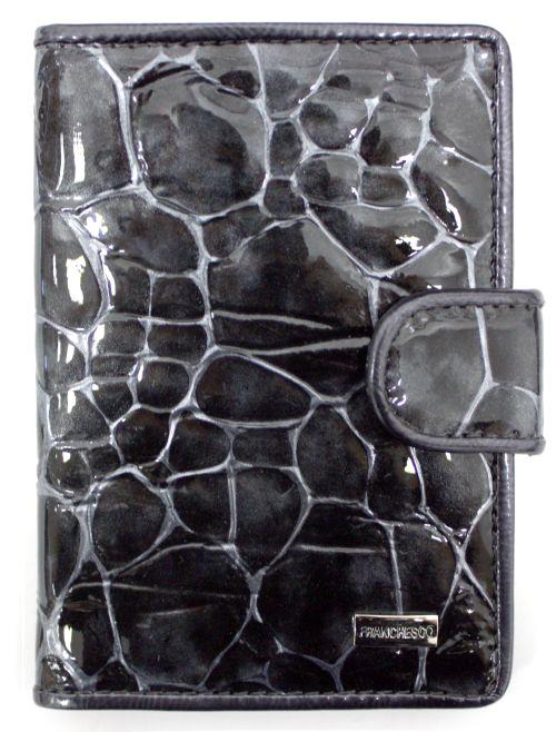 Обложка для автодокументов мужская Alliance, цвет: серый. 0-552-57Натуральная кожа