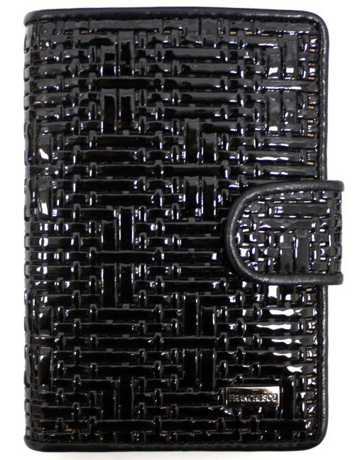 Обложка для автодокументов женская Alliance, цвет: черный. 0-552-65Натуральная кожа