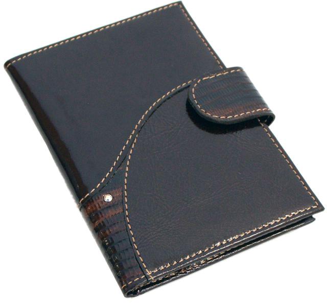 Обложка для автодокументов женская Krystall, цвет: коричневый. 0-556(СВ)Натуральная кожаОригинальные кристаллы Swarovski. Внутри текстильная подкладка, пластиковый вкладыш для документов. Закрывается на магнитку.