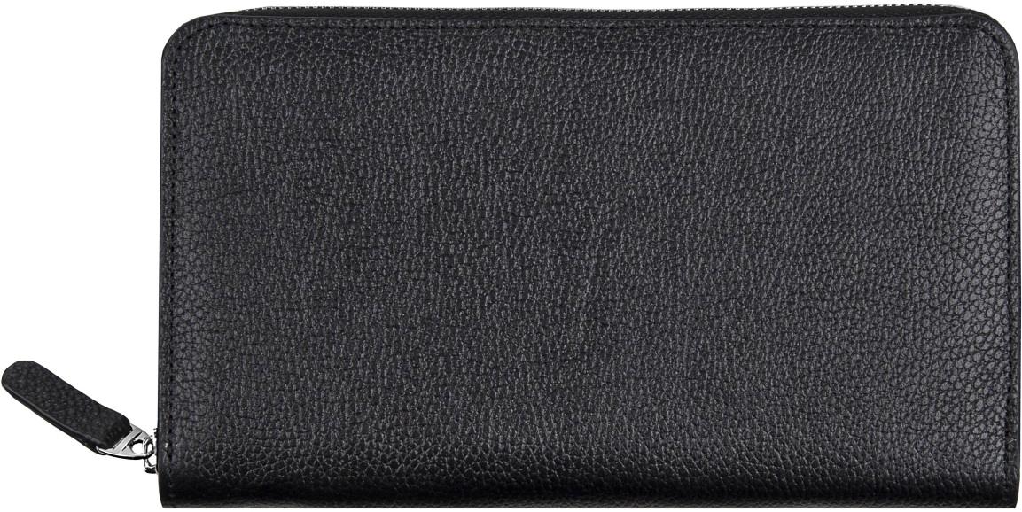 Кошелек женский Alliance, цвет: черный, синий. 0-750 пл