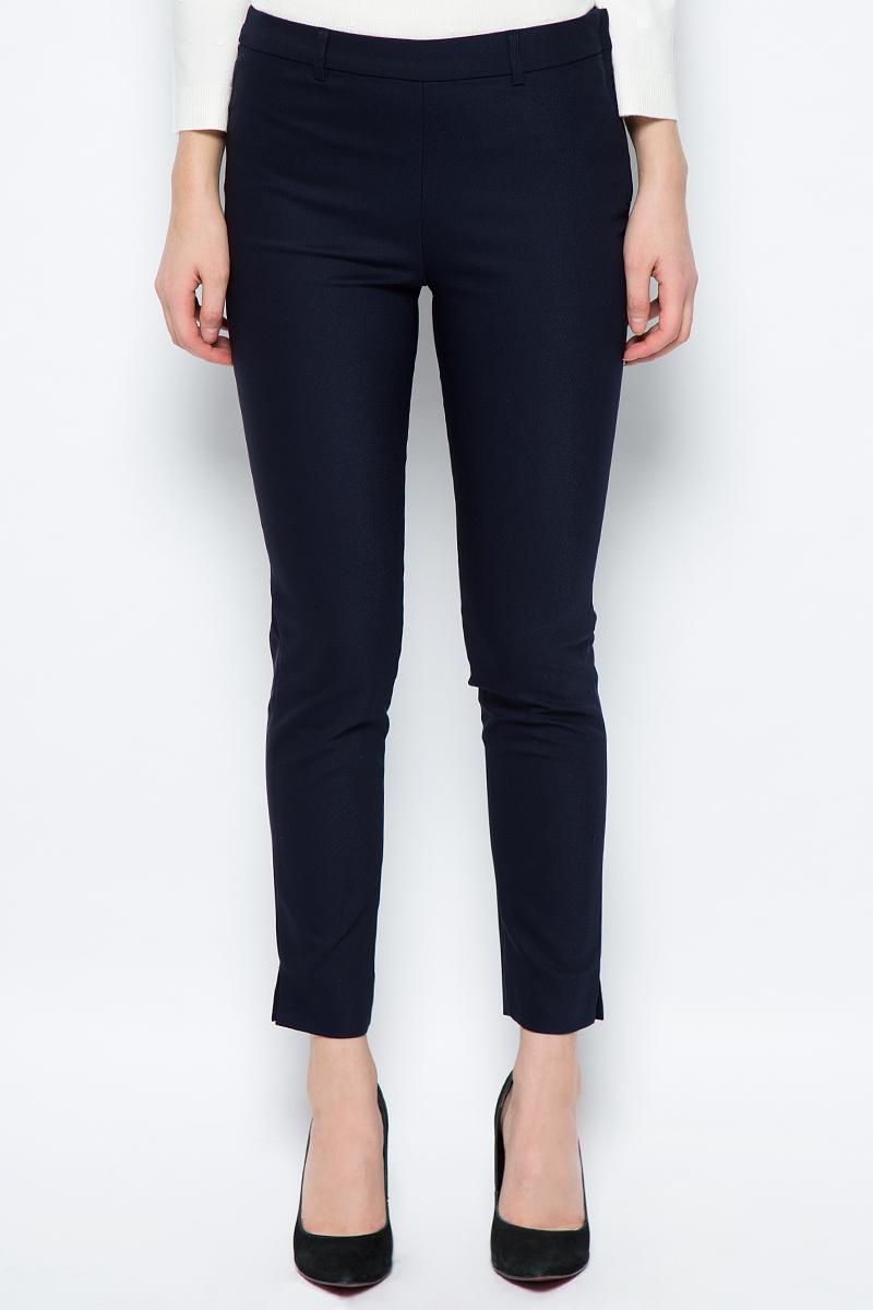 Брюки женские Sela, цвет: темно-синий. P-115/209-8111. Размер 46 брюки женские sela цвет темно синий p 115 858 8110 размер 42