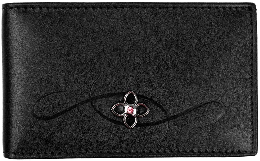 Визитница женская Constanta, цвет: черный. 0-516 бумажник constanta портмоне ab6823 page 4