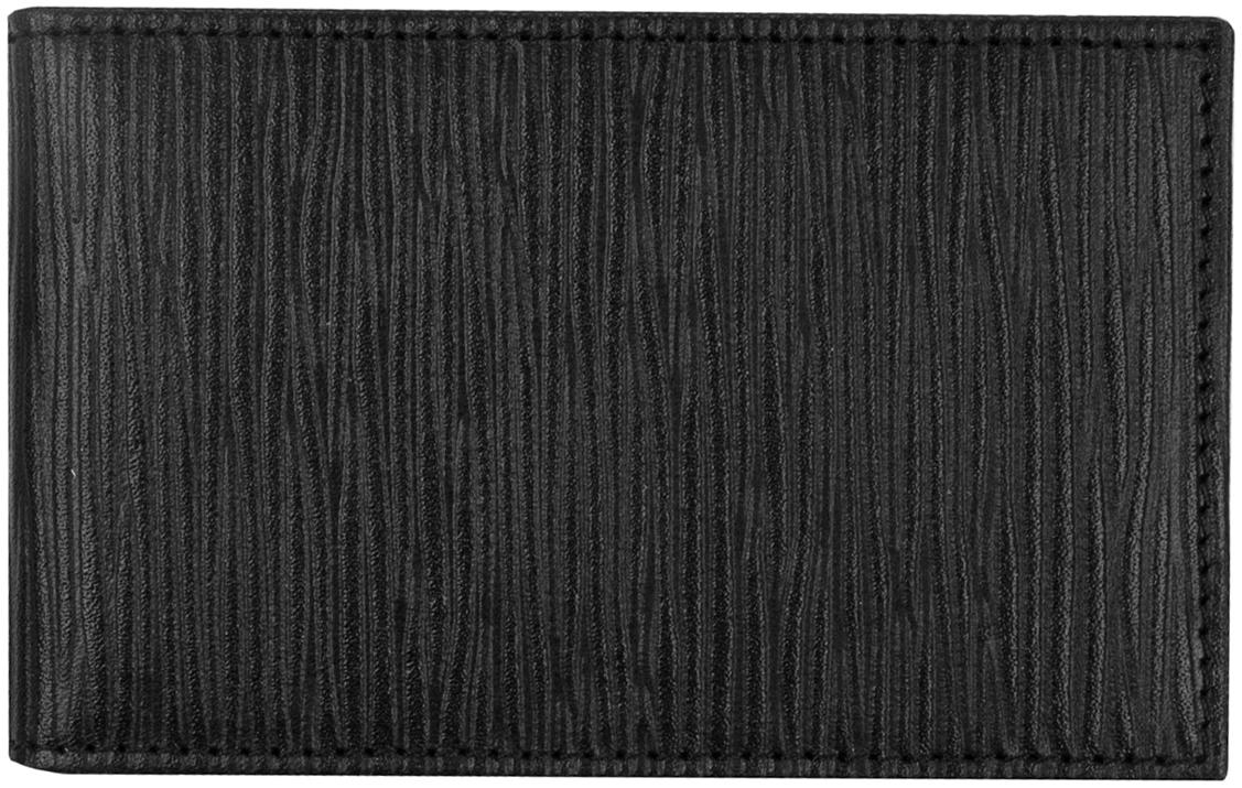 Визитница мужская Alliance, цвет: черный. 0-47/2