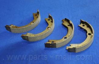 Колодки тормозные барабанные PMC. PLA028PLA028