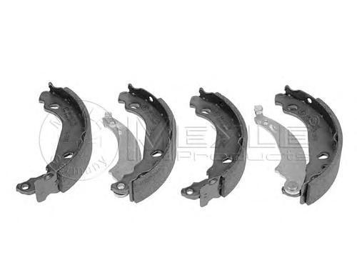 Колодки тормозные дисковые Meyle. 11-14533000511-145330005