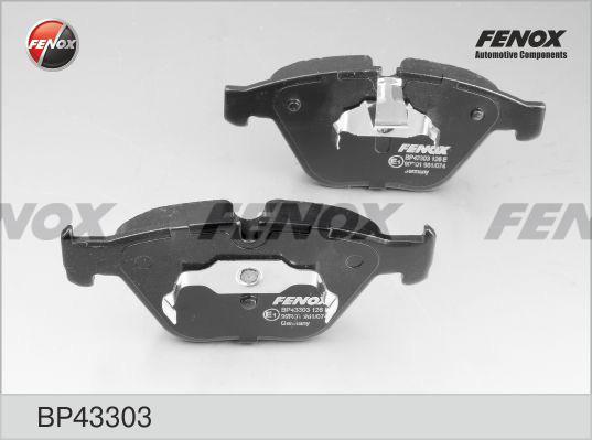 Колодки тормозные дисковые Fenox. BP43303BP43303