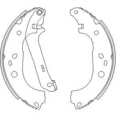 Колодки тормозные дисковые Remsa, комплект. 420601420601