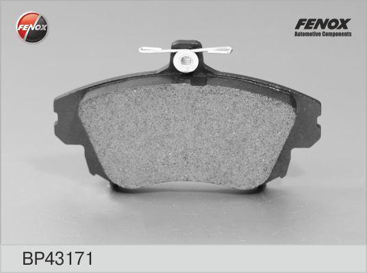 Колодки тормозные дисковые Fenox. BP43171BP43171