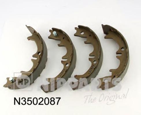 Колодки тормозные дисковые Nipparts, стояночная тормозная система. N3502087N3502087