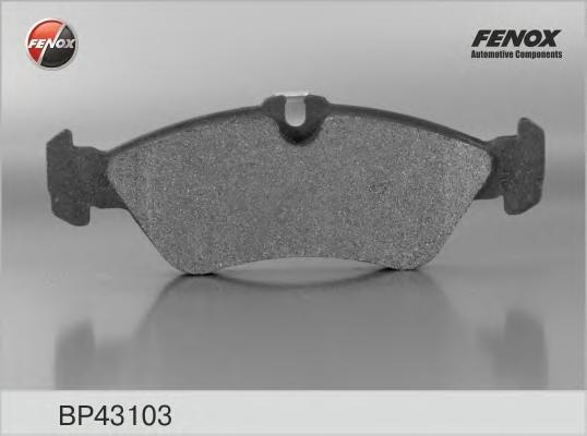 Колодки тормозные дисковые Fenox. BP43103BP43103