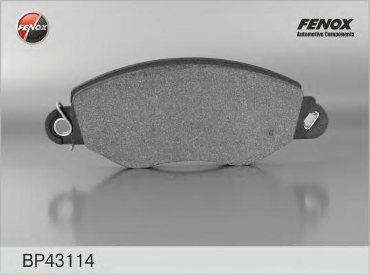 Колодки тормозные дисковые Fenox. BP43114BP43114