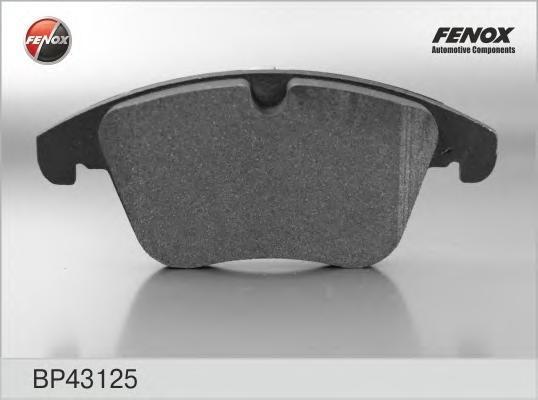 Колодки тормозные дисковые Fenox. BP43125BP43125