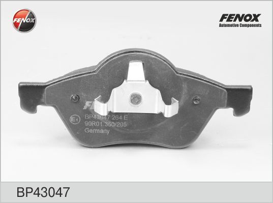 Колодки тормозные дисковые Fenox. BP43047BP43047