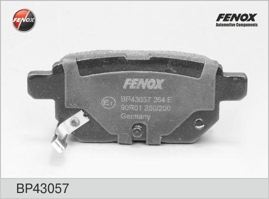 Колодки тормозные дисковые Fenox. BP43057BP43057