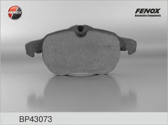 Колодки тормозные дисковые Fenox. BP43073BP43073