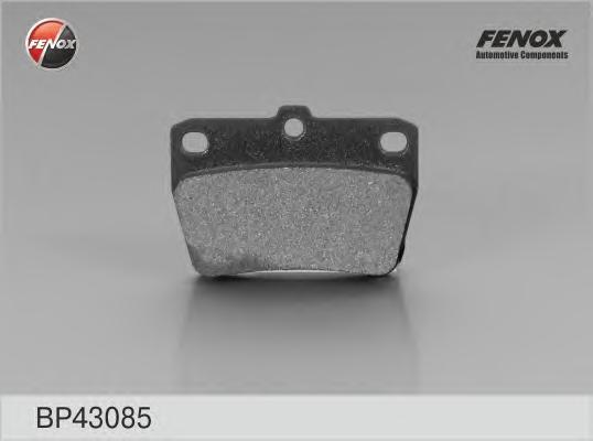 Колодки тормозные дисковые Fenox. BP43085BP43085