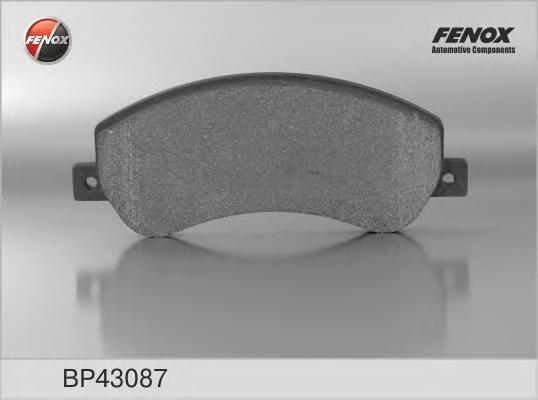 Колодки тормозные дисковые Fenox. BP43087BP43087
