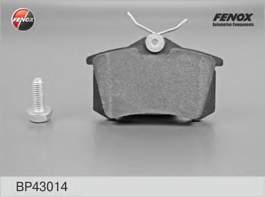 Колодки тормозные дисковые Fenox. BP43014BP43014