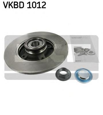 Диск тормозной Skf. VKBD1012VKBD1012