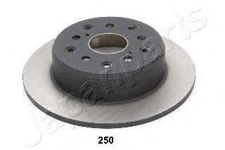 Диск тормозной Japanparts, 2 шт. DP-250DP-250