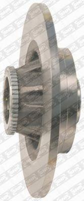 Диск тормозной Snr/Ntn, с интегрированным подшипником. KF15570UKF15570U