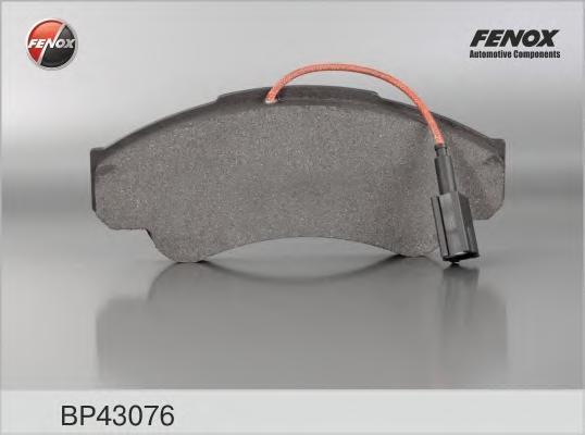 Колодки тормозные дисковые Fenox. BP43076BP43076