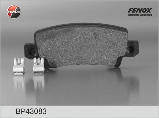 Колодки тормозные дисковые Fenox. BP43083BP43083