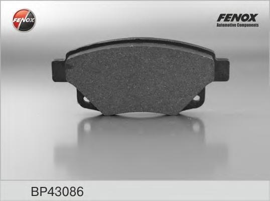 Колодки тормозные дисковые Fenox. BP43086BP43086