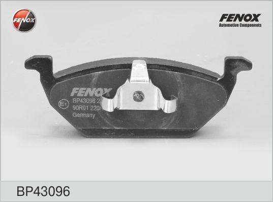Колодки тормозные дисковые Fenox. BP43096BP43096