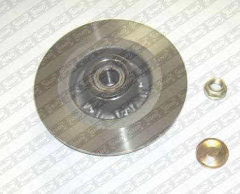 Диск тормозной Snr/Ntn, с интегрированным подшипником. KF15583UKF15583U